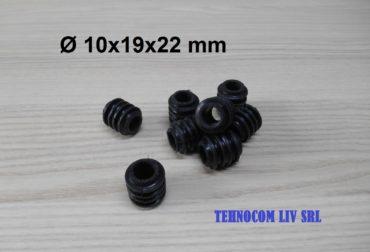 Elemente elastice din cauciuc D10x19x22 mm