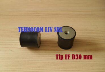 Amortizoare vibratii din cauciuc Ø30 mm