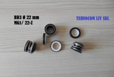 Ø22 mm etansari mecanice TS MG1, LRB 17
