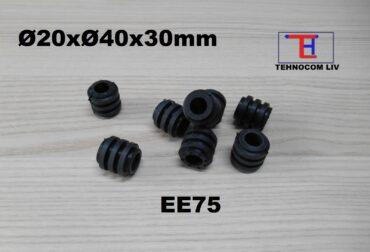 Amortizoare cuplaje elastice cauciuc Ø20x40x30mm