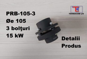 Cuplaj elastic 3 bolturi motor 15Kwati