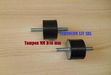 Tampon antivibratii D16mm cu suruburi M5