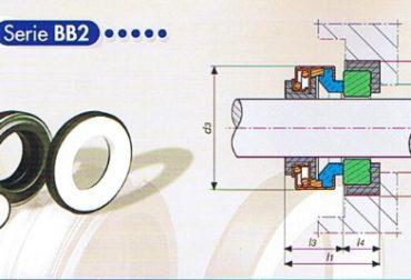 Etansare mecanica hidrofor ax D15mm