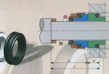 Etansari mecanice pompe apa Lowara D20mm