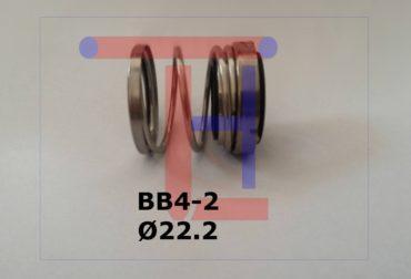 Etansare Mecanica dubla BB4-2 Ø22.2mm