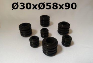 Amortizoare socuri mecanice cuplaje mecanice Ø30x58x50mm