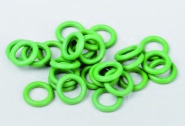 Inele O cauciuc Viton verde 2.9x1.78mm
