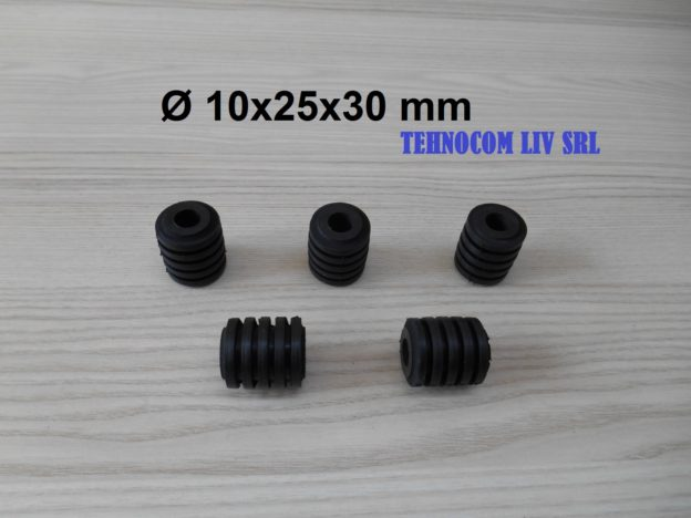 Elemente elastice NBR pentru cuplaje cu bolturi D10x25x30mm