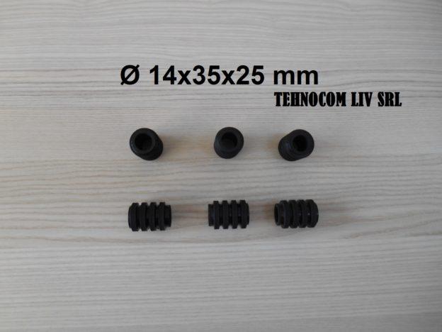 Elemente elastice cuplaje mecanice D14x25x35