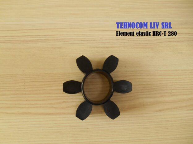 Element elastic pentru cuplaj cu gheare tip stea HRC-T 280