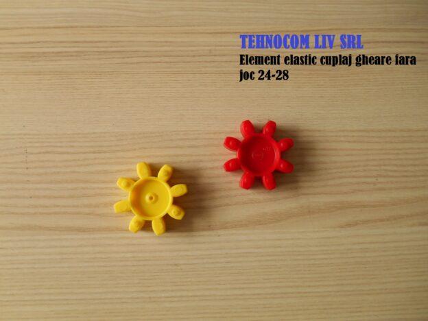 Elemente elastice cuplaj cu gheare fara joc 24-28