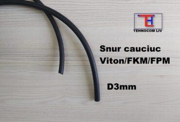 Snur cauciuc rotund FKM D3mm