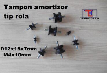 Tampon Cauciuc Amortizor Esapament 12X15X7 M4X10