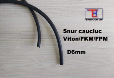 Șnururi O cauciuc FKM Diametrul 6mm